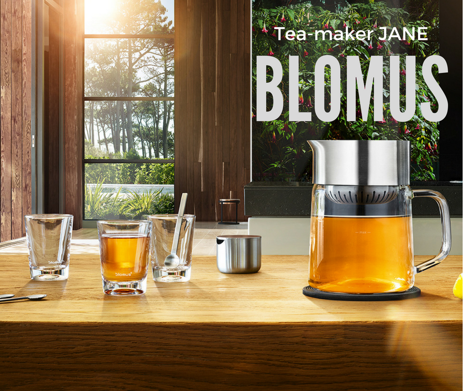de blomus pure life tea maker tea jane shopaholiekmama. Black Bedroom Furniture Sets. Home Design Ideas